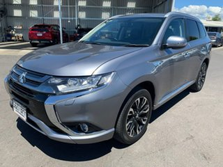 2017 Mitsubishi Outlander ZK MY17 PHEV AWD LS Grey 1 Speed Automatic Wagon Hybrid.