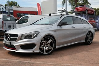 2015 Mercedes-Benz CLA250 Shooting Brake 117 4Matic Silver 7 Speed Auto Dual Clutch Wagon.