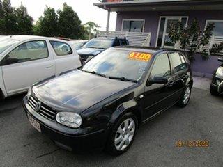 2003 Volkswagen Golf 2.0 S Black 4 Speed Automatic Hatchback.
