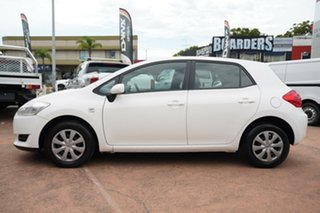 2007 Toyota Corolla ZRE152R Ascent White 6 Speed Manual Hatchback