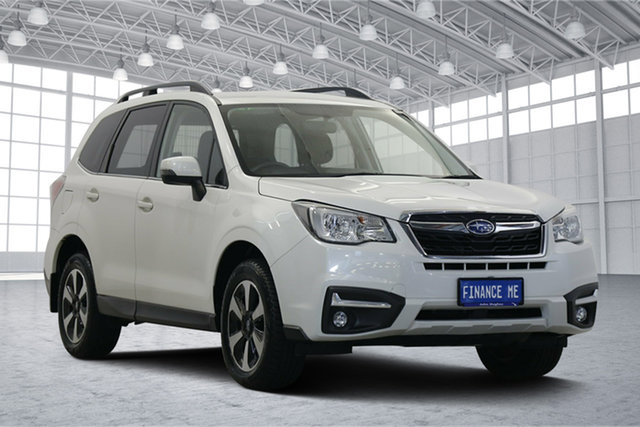 Used Subaru Forester S4 MY18 2.0D-L CVT AWD Victoria Park, 2017 Subaru Forester S4 MY18 2.0D-L CVT AWD Crystal White 7 Speed Constant Variable Wagon