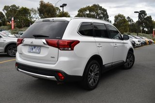 2016 Mitsubishi Outlander ZK MY16 XLS 4WD White 6 Speed Sports Automatic Wagon