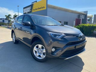 2017 Toyota RAV4 ZSA42R GX 2WD Grey 7 Speed Constant Variable Wagon.