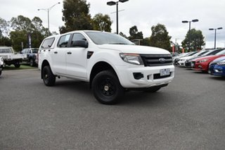 2013 Ford Ranger PX XL Hi-Rider White 6 Speed Sports Automatic Utility.