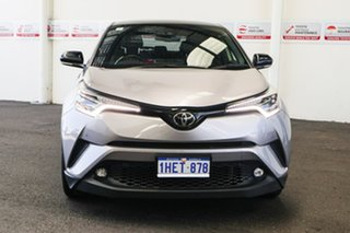 2018 Toyota C-HR NGX10R Koba S-CVT 2WD Shadow Platinum & Black Roof 7 Speed Constant Variable Wagon.