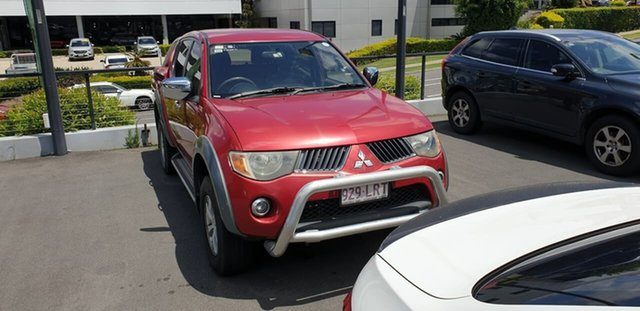 Used Mitsubishi Triton ML MY07 GLX-R Double Cab Mount Gravatt, 2007 Mitsubishi Triton ML MY07 GLX-R Double Cab Red 4 Speed Automatic Utility
