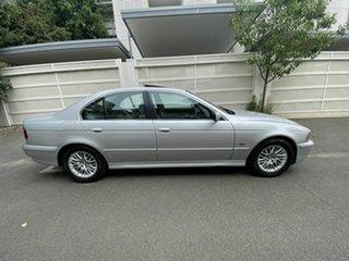 2001 BMW 5 Series E39 MY02 530i Steptronic Executive Silver 5 Speed Sports Automatic Sedan.