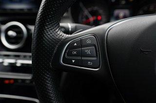 2016 Mercedes-Benz C200 205 MY16 Night Edition Polar White 7 Speed Automatic Sedan