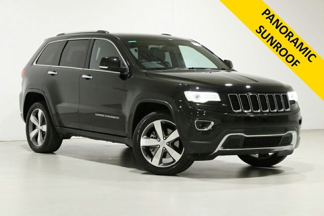 Used Jeep Grand Cherokee WK MY15 Limited (4x4) Bentley, 2015 Jeep Grand Cherokee WK MY15 Limited (4x4) Black 8 Speed Automatic Wagon