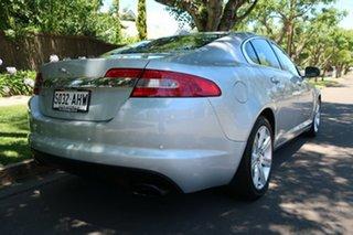 2010 Jaguar XF X250 MY11 Luxury Silver 6 Speed Sports Automatic Sedan
