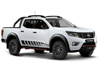 2020 Nissan Navara D23 S4 MY20 N-TREK White Diamond 7 Speed Sports Automatic Utility