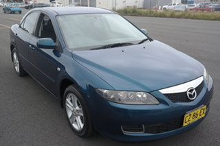 2006 Mazda 6 GG1032 Classic Blue 5 Speed Sports Automatic Sedan