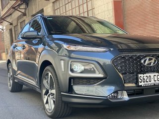 2020 Hyundai Kona OS.3 MY20 Highlander 2WD Dark Knight 6 Speed Automatic Wagon