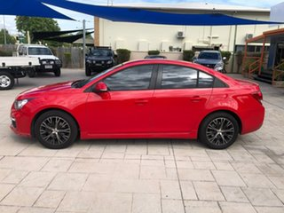 2015 Holden Cruze JH Series II MY15 SRi Red 6 Speed Sports Automatic Sedan.