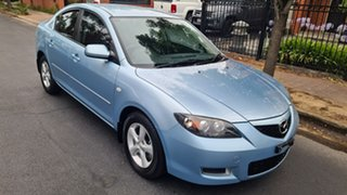 2007 Mazda 3 BK MY06 Upgrade Maxx Blue 4 Speed Auto Activematic Sedan.
