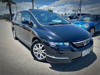 2006 Honda Odyssey 3rd Gen Luxury Black Sports Automatic Wagon.
