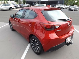 2017 Mazda 2 DJ2HAA Genki SKYACTIV-Drive Red 6 Speed Sports Automatic Hatchback