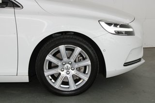 2016 Volvo V40 M Series MY16 T4 Adap Geartronic Luxury Ice White 6 Speed Sports Automatic Hatchback