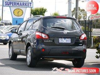 2011 Nissan Dualis J10 Series II +2 ST Black Constant Variable Hatchback.