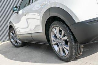 2020 Mazda CX-30 DM4WLA G25 SKYACTIV-Drive i-ACTIV AWD Touring Snowflake White Pearl 6 Speed