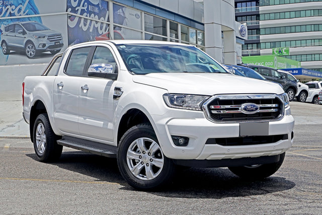 Used Ford Ranger PX MkIII 2020.25MY XLT Springwood, 2020 Ford Ranger PX MkIII 2020.25MY XLT White 6 Speed Sports Automatic Double Cab Pick Up
