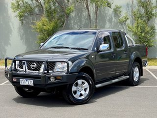 2007 Nissan Navara D40 ST-X Grey 5 Speed Automatic Utility.
