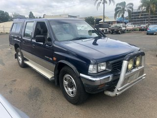 1996 Holden Rodeo TFG6 LX (4x4) Blue 5 Speed Manual 4x4 Crew Cab Pickup.