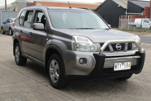 Used Nissan X-Trail T31 ST (4x4) West Footscray, 2008 Nissan X-Trail T31 ST (4x4) Grey 6 Speed Manual Wagon