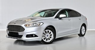 2016 Ford Mondeo MD Ambiente Silver 6 Speed Sports Automatic Dual Clutch Hatchback.
