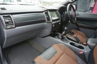 2017 Ford Ranger PX MkII Wildtrak Double Cab White 6 Speed Manual Utility
