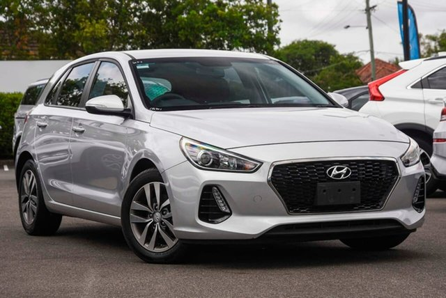 Used Hyundai i30 GD4 Series II MY17 Active DCT Mount Gravatt, 2017 Hyundai i30 GD4 Series II MY17 Active DCT Silver 7 Speed Sports Automatic Dual Clutch Hatchback