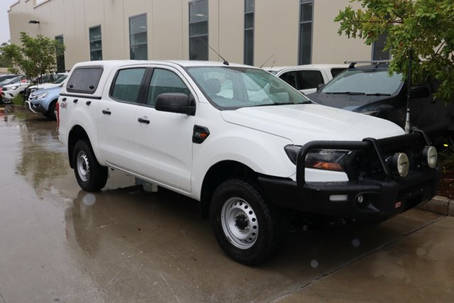 Used Ford Ranger PX MkII XL 3.2 (4x4) Castle Hill, 2016 Ford Ranger PX MkII XL 3.2 (4x4) White 6 Speed Automatic Crew Cab Utility