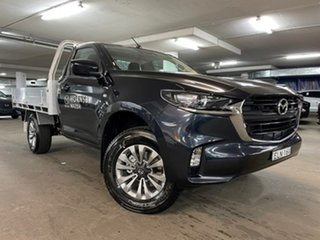 2020 Mazda BT-50 TFS40J XT Blue 6 Speed Manual Cab Chassis.