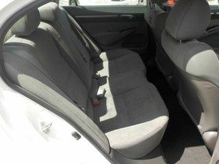2010 Honda Civic MY10 VTi-L White 5 Speed Automatic Sedan