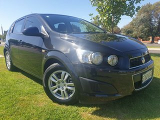 2014 Holden Barina TM MY14 CD Black 6 Speed Automatic Hatchback.