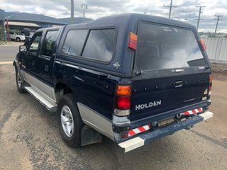 1996 Holden Rodeo TFG6 LX (4x4) Blue 5 Speed Manual 4x4 Crew Cab Pickup