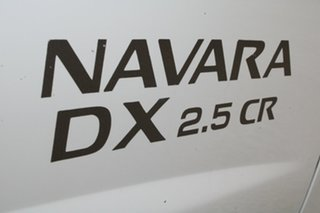 2009 Nissan Navara D22 MY08 DX (4x2) 5 Speed Manual Cab Chassis