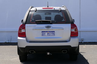 2010 Kia Sportage KM2 MY10 LX Silver 4 Speed Automatic Wagon.
