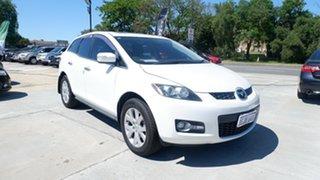 2008 Mazda CX-7 ER1031 MY07 Luxury White 6 Speed Sports Automatic Wagon.