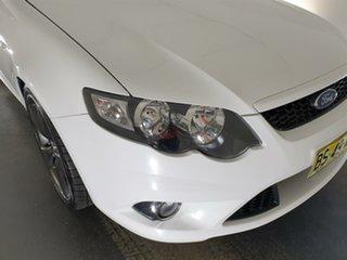2009 Ford Falcon FG XR6 White 5 Speed Sports Automatic Sedan.