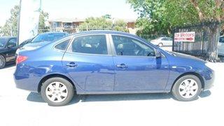 2006 Hyundai Elantra Blue Sedan