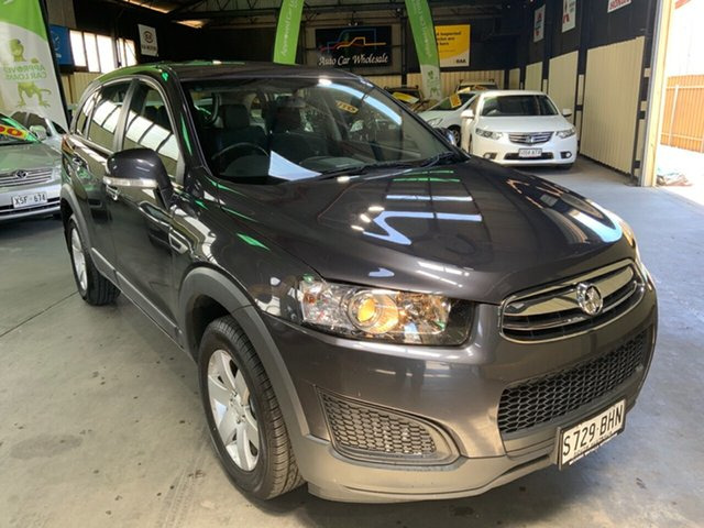 Used Holden Captiva CG MY15 7 LS (FWD) Hampstead Gardens, 2015 Holden Captiva CG MY15 7 LS (FWD) Grey 6 Speed Automatic Wagon
