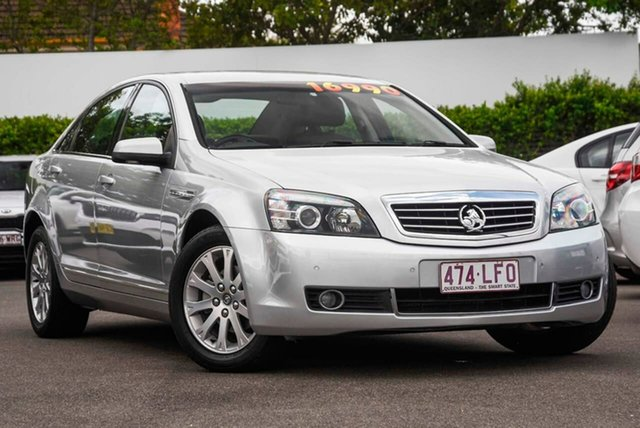 Used Holden Statesman WM MY10 Mount Gravatt, 2009 Holden Statesman WM MY10 Silver 6 Speed Sports Automatic Sedan