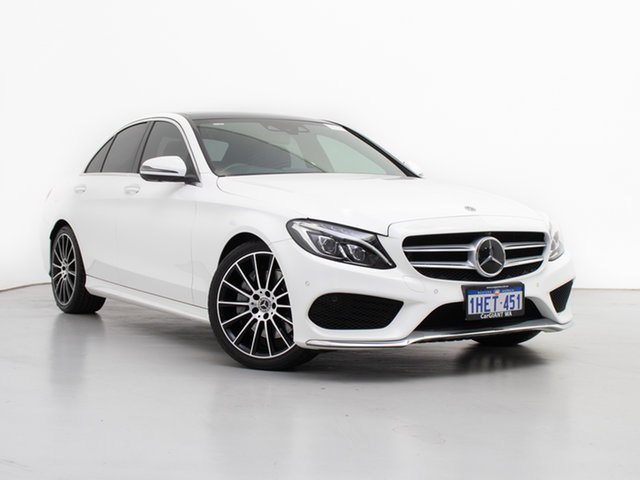 Used Mercedes-Benz C300 205 MY17.5 , 2017 Mercedes-Benz C300 205 MY17.5 White 9 Speed Automatic G-Tronic Sedan