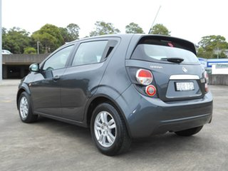 2016 Holden Barina TM MY16 CD Grey 5 Speed Manual Hatchback
