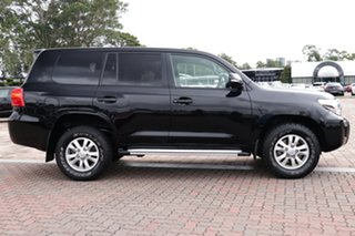 2014 Toyota Landcruiser VDJ200R MY13 GXL Black 6 Speed Sports Automatic SUV