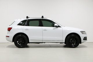 2016 Audi Q5 8R MY16 Upgrade 2.0 TDI Quattro White 7 Speed Auto Dual Clutch Wagon