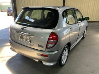 2000 Daihatsu Sirion M101RS GTVi Silver 4 Speed Sports Automatic Hatchback.