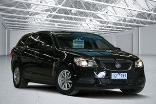 2015 Holden Commodore VF MY15 Evoke Black 6 Speed Automatic Sportswagon.