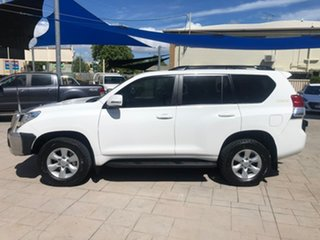 2011 Toyota Landcruiser Prado GRJ150R GXL White 5 Speed Sports Automatic Wagon